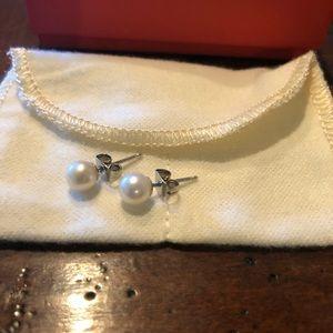 James Avery Pearl Stud Earrings